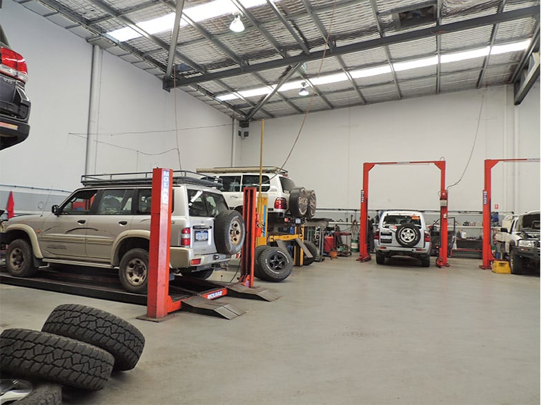 4WD service workshop